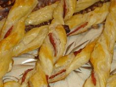 Sonkás csavart rúd leveles tésztából Recept képpel - Mindmegette.hu - Receptek