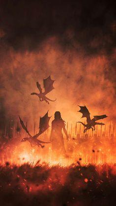Daenerys Targaryen😍 - Game of Thrones - Casas Game Of Thrones, Arte Game Of Thrones, Game Of Thrones Artwork, Game Of Thrones Quotes, Daenerys Targaryen Aesthetic, Daenerys Targaryen Art, Game Of Throne Daenerys, Targaryen Wallpaper, Drogon Game Of Thrones