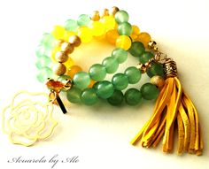 Acuarela bracelets. See what's coming for Spring and Summer. Acuarela by Ale.