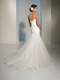 Sophia Tolli - Bridal  »  Style No. Y11215  »  Designer Wedding Dresses 2013 / 2014 by Sophia Tolli