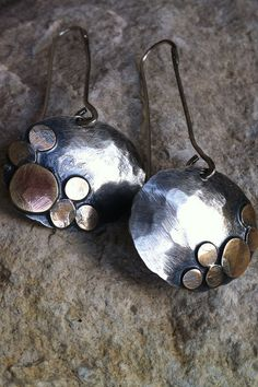 Oxidized Sterling Silver & Red Brass at RollingStonesJewelry.com
