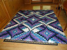 heart bargello quilt pattern | Diamond Jubilee