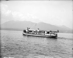 West Vancouver Ferry 1920. We should have a car ferry to the North Shore again.