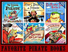 Pirate Literacy Gold & LOTS of FREEBIES! Activities, books, food, etc. for Pirate theme.