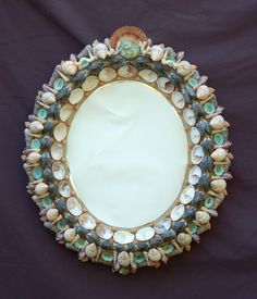 Image detail for -Shell Mirrors Seashell Frame, Seashell Art, Seashell Crafts, Beach Crafts, Coastal Mirrors, Coastal Decor, Shell Mirrors, Beach Mirror, Seashell Projects