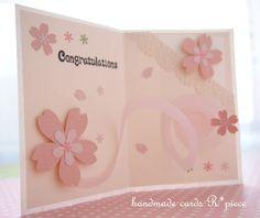 桜の飛び出すカード♪くるくる~♪ | (旧ブログ)想いを届ける飛び出すカード屋♪R*pieceの気まぐれ日記| ハンドメイドカードR*pieceれいんぼーぴーす
