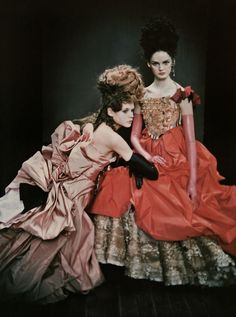 """So Splendid and Magic"" by Paolo Roversi for Vogue Italia"