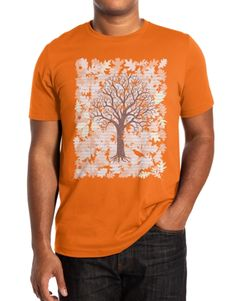 Check out the design Loose Leaf by Evan Ferstenfeld available on Mens Triblend Tee on Threadless Dena, Summer Tshirts, Winter Sweaters, Sweater Jacket, Reebok, Activewear, Latest Trends, Men's Fashion, Lovers