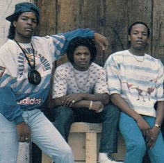 Ice Cube, Eazy-E and Dr. Dre