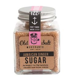 Jamaican Ginger Sugar Blend by Old Salt Merchants on Scoutmob Shoppe
