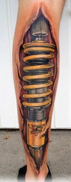 Unique - Unique Mechanical Tattoo Designs For Boys