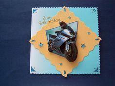 Zum Geburtstag    Made by Antje Grimm