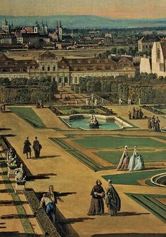 View of Vienna from the Belvedere, 1759 - 1760, 18th Century