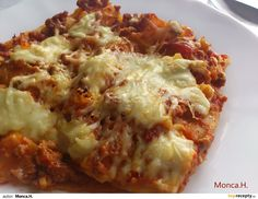 LASAGNE Musaka, Cooking Recipes, Healthy Recipes, Polish Recipes, Russian Recipes, Cauliflower, Cabbage, Pizza, Vegetables