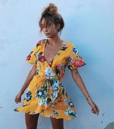 Call it the Reformation effect, but tea dresses are everywhere this summer. Ditsy print florals with capped sleeves and floaty ruffles have been seen on just about every fashion blogger worth their salt – Lucy Williams and Lorna Luxe are both fans.