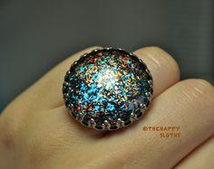 Julep's DIY Nail Polish Cabochon Ring: Mini Review and Photos