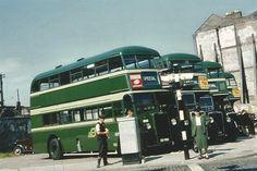 C.I.E buses, Dublin 1950s Dublin Ireland, Ireland Travel, Buses And Trains, Rescue Vehicles, Photo Engraving, Irish American, Dublin City, Bus Coach, Classic Trucks