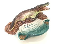 Florida Alligator Ashtray (1950's)