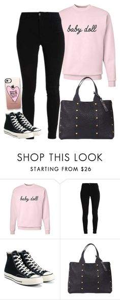 """""""Untitled #1571"""" by kitty-paws04 ❤ liked on Polyvore featuring Converse, Jimmy Choo and Casetify"""
