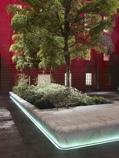 // Robert and Arlene Kogod Courtyard by Foster + Partners Landscape Elements, Landscape Walls, Landscape Lighting, Landscape Architecture, Outdoor Lighting, Landscape Design, Atrium Design, Courtyard Design, Fence Design