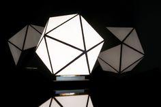 7TH, minimalist, modern, handmade lamp