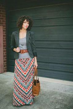 Blazer & skirt