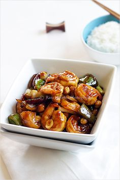 Kung Pao Shrimp (Kung Pao Prawn/宫保虾) Recipe