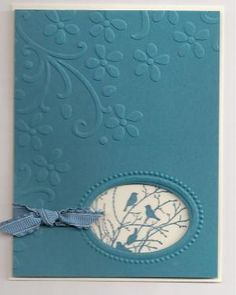 Stampin Up Serene Silhouettes stamp set by Annielove