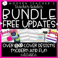 Feel prepared for everyday teaching! Including how to prepare and organized your teacher binder! Organizing Paperwork, Teacher Organization, Teacher Hacks, Organized Teacher, Teacher Stuff, Organization Ideas, Elementary Classroom Themes, Middle School Classroom, Kindergarten Classroom