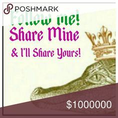 Share my listings and I'll share yours! Let's all share and build our network! Other