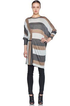 MM6 striped tunic