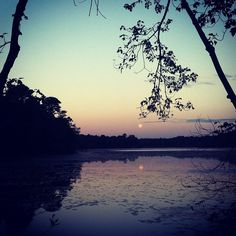 """""""Sunrises are my favorite. The little white dot far away is the moon."""" An Instagram submission by @pj_rock."""