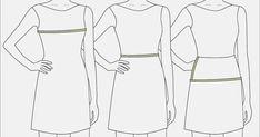 Sebelum membuat pola dasar badan, tentunya kita perlu mengetahui ukuran-ukuran badan yang akan kita buat polanya.   Berikut cara mengambil u...
