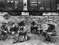 The Depression: life on the rails was common place for many men.