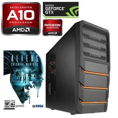 """Titan 8100a Xenomorph"" AMD A10-5800K 3.80GHz @ 4.40GHz DDR3 2133MHz System - Quad Core ** FREE ALIENS: COLONIAL MARINES GAME **    this is the sort of power of PC I want to build - with the 200 quid graphics card options"