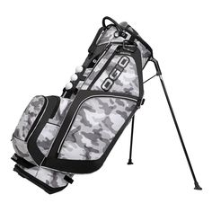 Walking the full golf course has never been easier with the Ozone Stand Bag at your side.
