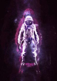 SPACEBOUND by Ryan Mitchell, via Behance