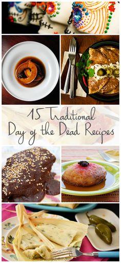 15 traditional Dia de los Muertos Recipe. Day of the Dead
