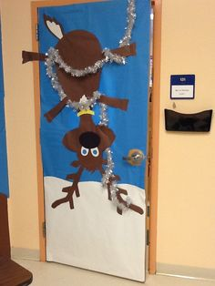 I am a bit behind for a Christmas post but better late then never I suppose! For the second annual door decorating contest at my school my p...