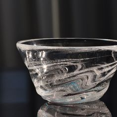 渦潮モール小鉢 水/紫   和雑貨美輪【うりん】