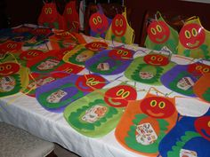 Very hungry caterpillar apron for story retelling