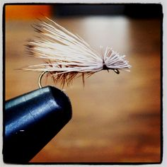 Fly tying. Elk hair caddis. I know how to do this.