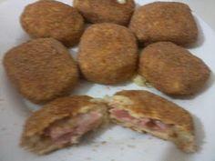 Nuggets Dukan Ingredientes: 500 gr de pechuga de pollo cocida y sazonada  200g…