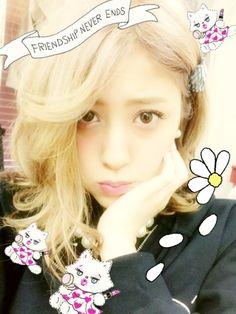 Miyabi Natsuyaki (Berryz Kobo). Photo by Her blog.