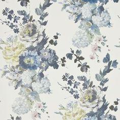 Seraphina tapeter från Designers Guild hos Engelska Tapetmagasinet. Blommigt multi tapet. Köp fraktfritt online eller besök butiken i Göteborg.