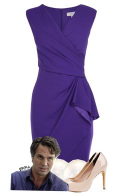 """""""Bruce banner/hulk inspired: formal"""" by tardis-221b ❤ liked on Polyvore"""