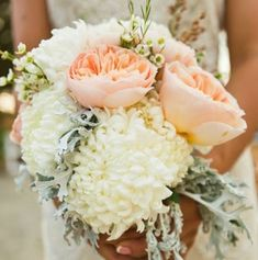 Like the peonies, chrysanthemums, little white flowers, and green leaves