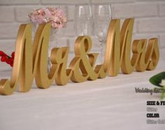 mr and mrs mr and mrs sign mr and mrs wall by WeddingGlitterSign