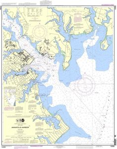 NOAA Nautical Chart 12283: Annapolis Harbor