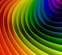 Lovely rainbow colours.